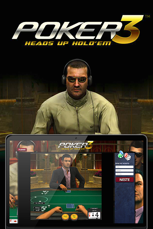 Poker 3 Heads Up Hold em